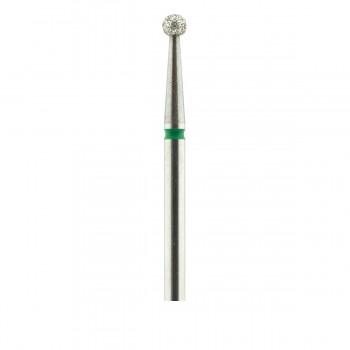 Фреза French Алмазная Круглая 001 (зеленая 534.025)
