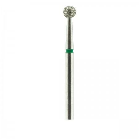 Фреза French Алмазная Круглая 001 (зеленая 534.035)