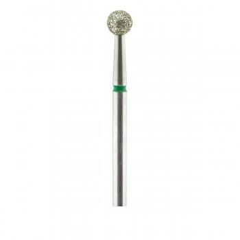 Фреза French Алмазная Круглая 001 (зеленая 534.040)