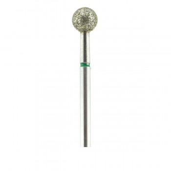 Фреза French Алмазная Круглая 001 (зеленая 534.055)