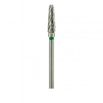 Фреза ТВС Конус куполообразный 200 крупная крестообразная нарезка (XG) (зеленая 040)