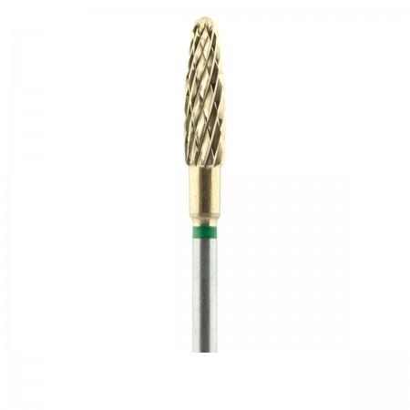 Фреза French ТВС ZRN Пуля 292 круп крестообразная (XG)  (зеленая 040)