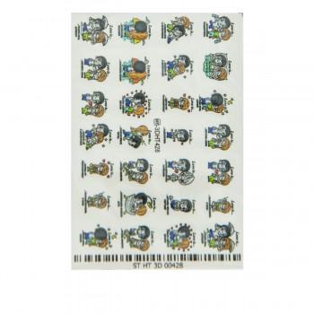 Слайдер-дизайн Хрусталь 3D (3D428)