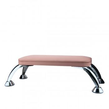 Подлокотник для маникюра на хромированных ножках FRC  (Pink)