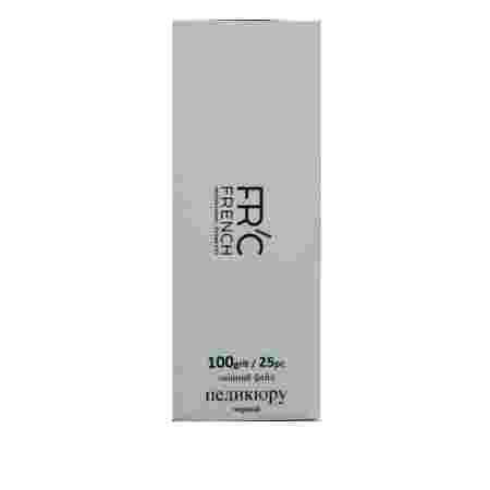 Поверхность сменная FRC Basis Step педикюр 25 шт (черная) 25 шт (100 grit)