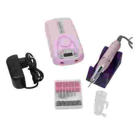 Фрезер портативный Mobile Drill BQ-101 45W 35000 об (Pink)