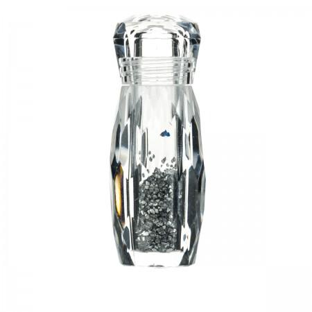 Декор Глобал Pixie в бутылочке серебряные