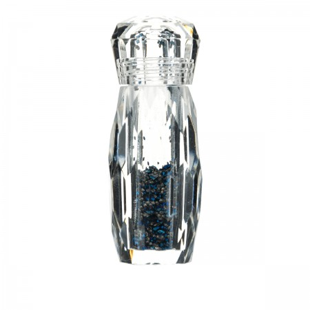Декор Глобал Pixie в бутылочке синие/черные