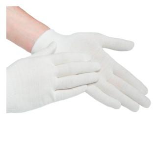 Подперчатки бесшовные вязаные HandyBoo Regular white L