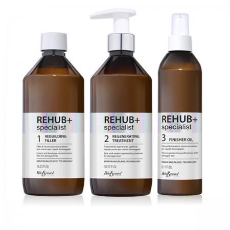 Набор для восстановления волос HELEN SEWARD на одно использование REHUB+
