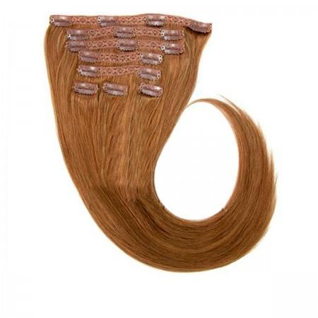 Волосы на заколках Human Hair Е 66 см 160 г (+/- 5 г) (8 прядей) 08