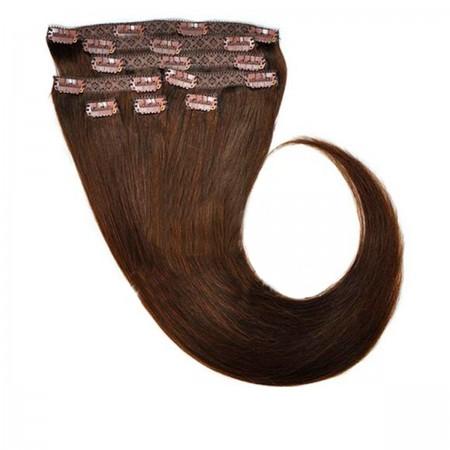 Волосы на заколках Human Hair Е 75 см 120 г (+/- 5 г) (8 прядей) 02
