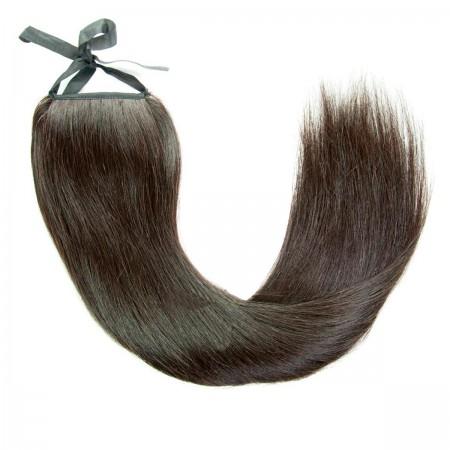 Хвост Human Hair Е 55 см 95 г 01В