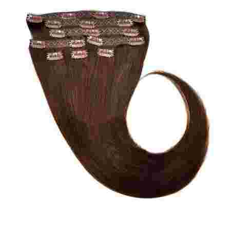Волосы на заколках Human Hair Е 66 см 120 г (+/- 5 г) (8 прядей) 02
