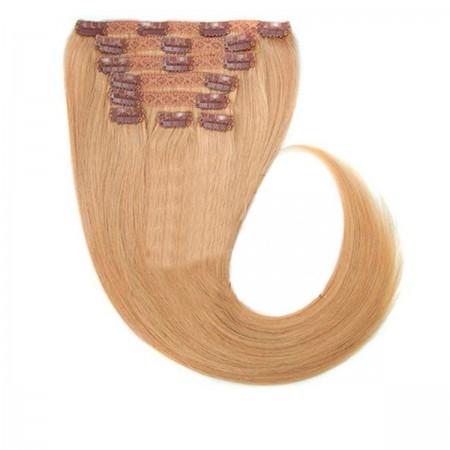 Волосы на заколках Human Hair Е 66 см 120 г (+/- 5 г) (8 прядей) 16