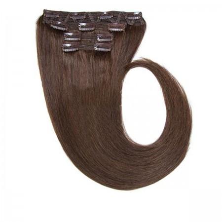 Волосы на заколках Human Hair Е 66 см 120 г (+/- 5 г) (8 прядей) 04