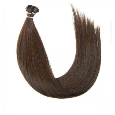 Волосы на капсулах Human Hair Славянка 45-50 см 100 г (+/- 5 г) 02