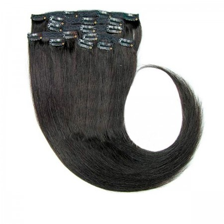 Волосы на заколках Human Hair Е 75 см 180 г (+/- 5 г) (11 прядей) 01В