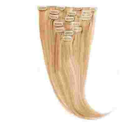 Волосы на заколках Human Hair Е 50 см 100 г (+/- 5 г) (8 прядей) 27/613