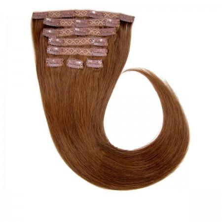 Волосы на заколках Human Hair Е 55 см 120 г (+/-5 г) (4 пряди) 04