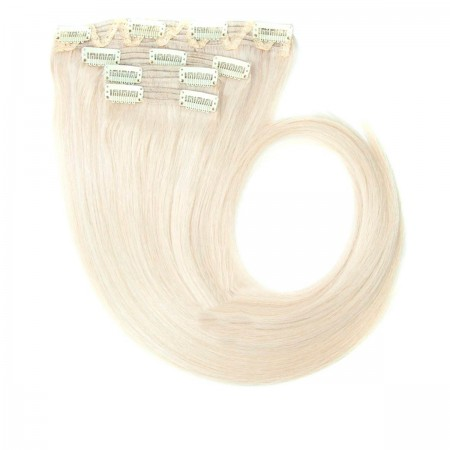 Волосы на заколках Human Hair Е 40 см 120 г (+- 5 г) (4 пряди) 60А