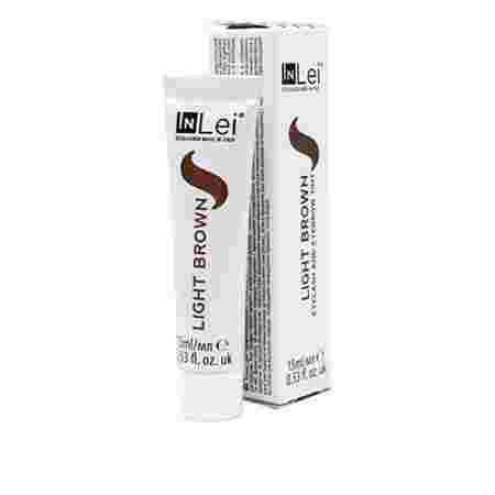 Краска для бровей и ресниц INLEI 15 мл (Light Brown)