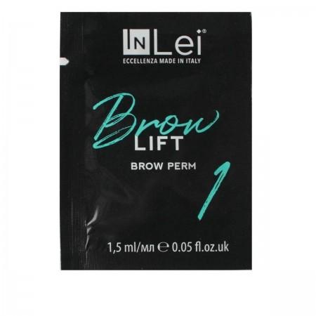 """Состав перманентный для бровей INLEI """"Brow Lift 1"""" 1.5 мл"""