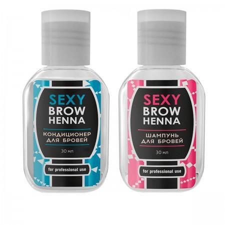 Набор Innovator Cosmetics по уходу за бровями SEXY BROW HENNA
