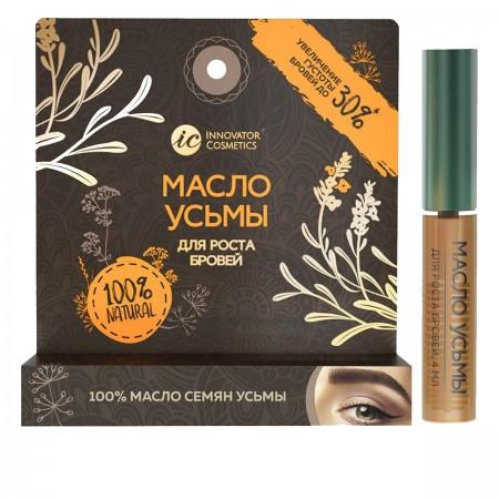 Масло листьев и семян вайды красильной Innovator Cosmetics для роста бровей 4 мл