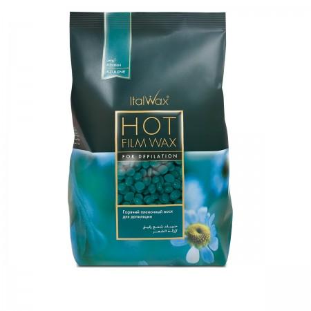 Воск горячий в гранулах ItalWax азулен 1 кг