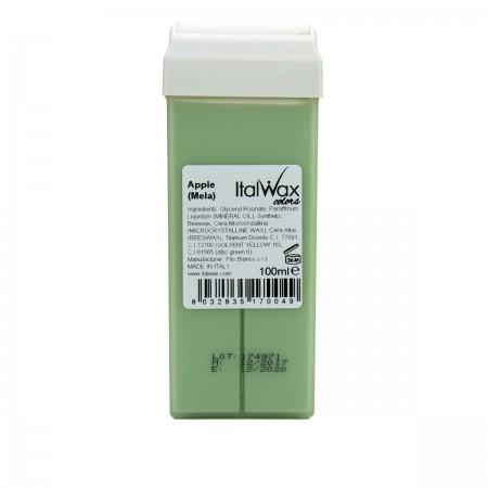 Воск в кассете ItalWax зеленое яблоко 100 мл