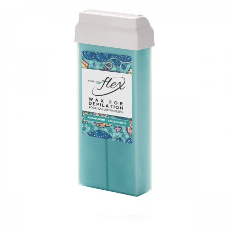 Воск в кассете ItalWax Flex аквамарин 100 мл