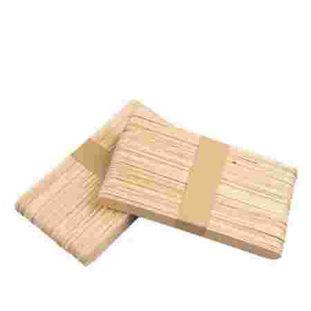 Шпатель ItalWax HIVE деревянный узкий (10Х140мм) 50 шт