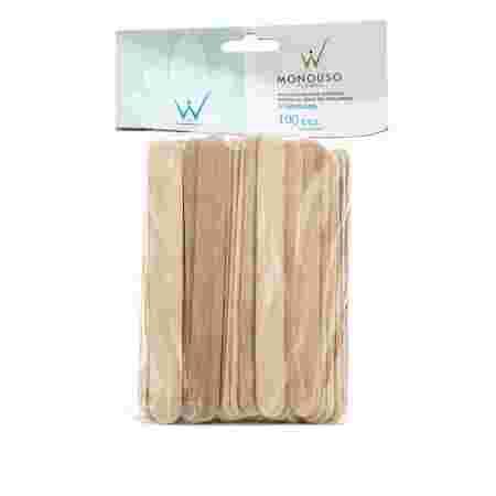 Шпатель деревянный в упаковке узкий 16х140  100 шт