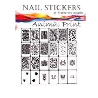 Трафареты-наклейки JVR Colours для nail art (270 животный принт)