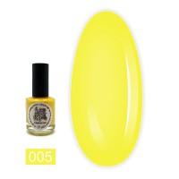 Краска для стемпинга  EL CORAZON - KALEIDOSCOPE 15 мл (05 yellow)