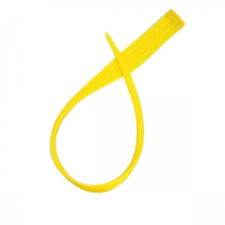Прядь на заколке KANEKALON 2 см/50 см желтая