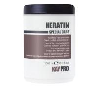 Маска KayPro Keratin восстанавливающая для поврежденных волос 1000 мл