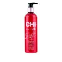 Шампунь защитный для окрашенных волос CHI Rose Hip Oil Protecting 340 мл