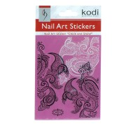 Наклейки для ногтей KODI Nail Art Stickers 070BP