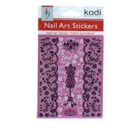 Наклейки для ногтей KODI Nail Art Stickers 072BP