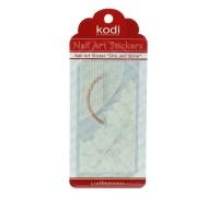 Наклейки для ногтей KODI Nail Art Stickers White 055LC