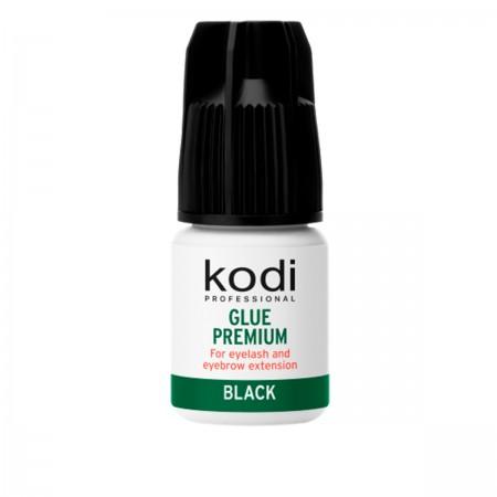 Клей для ресниц и бровей KODI Premium Black 3 г