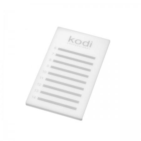 Планшет пластиковый для лент с ресницами KODI