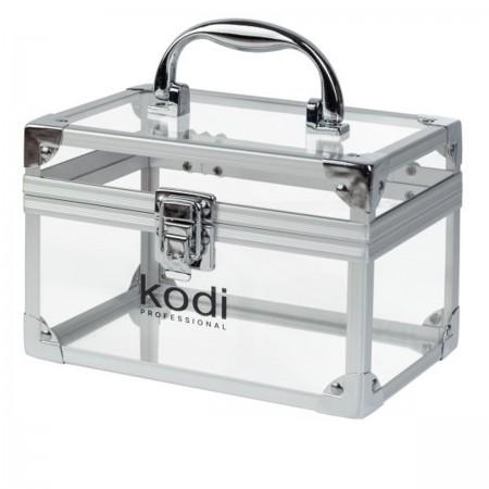 Кейс KODI № 12 (прозрачный рамка серебро)