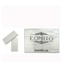 Баф для ногтей KOMILFO Large 120/120 (76х34х13 мм) 24 шт