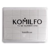Баф для ногтей KOMILFO Mini 120/120 (32х25х12 мм) 50 шт