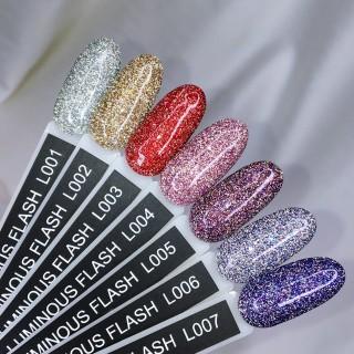 Гель-лак KOMILFO Luminous Flash 8 мл (002)