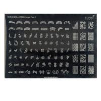 Форма средняя Konad Collection Image Plate 01