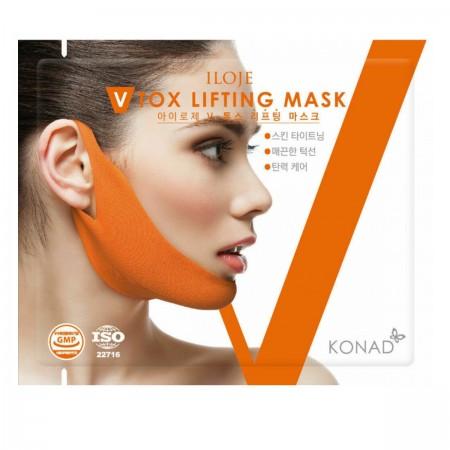 Маска-лифтинг от второго подборотка iloge V Tox Lifting mask  Mask 9 гр